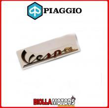 656219 TARGHETTA ADESIVA ANTERIORE ORIGINALE PIAGGIO VESPA GTS - GTX - GT - LX -LXV