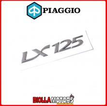 656223 TARGHETTA ADESIVA ADESIVO ORIGINALE PIAGGIO VESPA LX 125