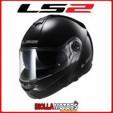 503251012/XL CASCO MODULARE LS2 FF325 STROBE NERO LUCIDO TAGLIA XL