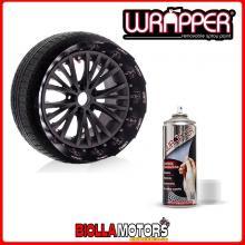 267209916 VERNICE REMOVIBILE WRAPPER PELLICOLA SPRAY TRASPARENTE OPACO 400ML WRAPPING TUNING CERCHI AUTO MOTO