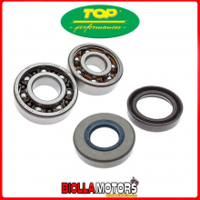 9924750 KIT CUSCINETTI 6303+6204 TN9C3 E PARAOLI DI BANCO RACING PER MINARELLI AM6 AM345
