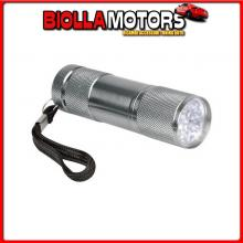 72022 LAMPA TOURING, TORCIA A 9 LED, 1200 MCD - SFUSO 1 PZ