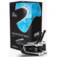 SRPT2116 INTERFONO CARDO PACKTALK BOLD DUO DMC+BLUETOOTH DUAL TECH+NATURAL VOICE CONFEZIONE DOPPIA PER DUE CASCHI