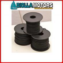 3105922 BOBINA ALL BLACK 2MM 30MT Bobinette All Black