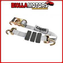 60143 LAMPA NASTRO TENSORE BISARCA GANCIO GIREVOLE - 4000 KG - 5X250 CM