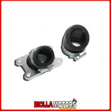 274117 COLLETTORE 45? D.24MM + D.33MM MOTOR HISPANIA FURIA 50 CROSS (AM6) 2T 2005-2010