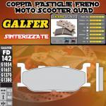 FD142G1370 PASTIGLIE FRENO GALFER SINTERIZZATE ANTERIORI YAMAHA XP 500 T-MAX 00-03
