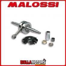 5314548 ALBERO MOTORE MALOSSI MHR MBK NITRO 50 2T LC BIELLA 80 - SP. D. 12-13 CORSA 39,3 MM -