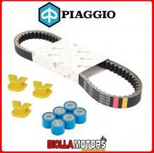 840908 CINGHIA DI TRASMISSIONE RULLI E CURSORI ORIGINALE PIAGGIO/GILERA DNA 180