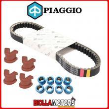 849090 CINGHIA DI TRASMISSIONE RULLI E CURSORI ORIGINALE PIAGGIO/GILERA FUOCO 500 E3 2007-2013 (EMEA)