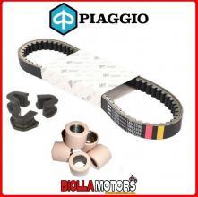 832738 CINGHIA DI TRASMISSIONE RULLI E CURSORI ORIGINALE PIAGGIO X9 500