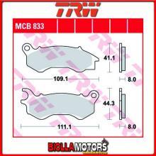 MCB833LC PASTIGLIE FRENO ANTERIORE TRW Honda NSC 50 AC Vision 2012- [ORGANICA- LC]
