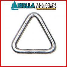 0236384 ANELLO TRIANGLE D5 INOX Anello Triangolo