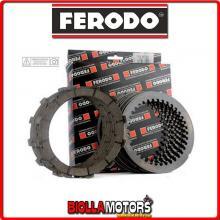 FCS0593/2 SERIE DISCHI FRIZIONE FERODO CAGIVA ALETTA 125 ORO S2 125CC 1986- CONDUTTORI + CONDOTTI STD