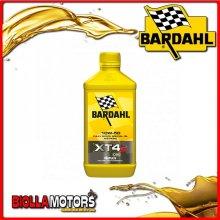 358041 1 LITRO OLIO BARDAHL XT4-S C60 10W50 LUBRIFICANTE PER MOTO 4T 1LT