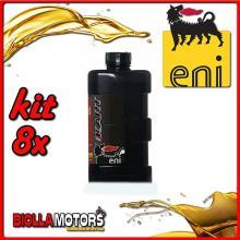 KIT 8X LITRO OLIO ENI KART 2T TOP SYNTETIC - 8x E141991
