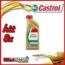 KIT 8X LITRO OLIO CASTROL EDGE 5W30 LT1 - 8x EDGE 5W30