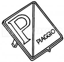 1576464 TARGHETTA PER FRONTALE PX 125-150 - FRENO DISCO - VESPA ET4 125-150