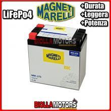 MM-LT3 BATTERIA LITIO MAGNETI MARELLI MMX14L LiFePo4 MMX14L MOTO SCOOTER QUAD CROSS