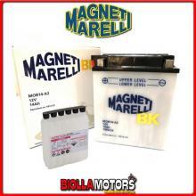 MOB14-A2 BATTERIA MAGNETI MARELLI YB14-A2 [SENZA ACIDO] YB14A2 MOTO SCOOTER QUAD CROSS [SENZA ACIDO]