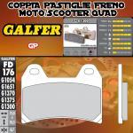 FD176G1300 PASTIGLIE FRENO GALFER GP ANTERIORI VOR RC 503 01-