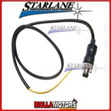 TAP2020 Connettore STARLANE con filo 20cm per segnali analogici ( es. TPS) e sensori di velocita' del veicolo per Athon GPS-PRO