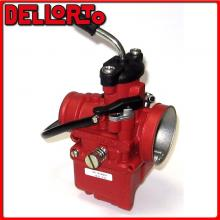 09389 CARBURATORE DELLORTO VHST 24 BS 2T ARIA MANUALE UNIVERSALE SCOOTER -RED RACING