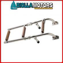 0502803 SCALETTA 3GR INOX/LEGNO Scalette Inox e Legno Mini