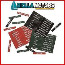 3703001 ETICHETTE STOPPER FRANCAIS Etichette Segna Stopper