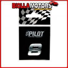 07945 PILOT 3D LETTERS TYPE-1 (18 MM) - 8