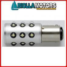 2163243 BA15S 12V (IP66) WHITE LED Lampadina Unipolare Stagna IP67 LED BA15S