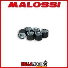 669417.E0 6 KIT ROLLERS MALOSSI Ø 15x12 gr.04,8