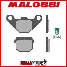 6215059 - 6215059BB COPPIA PASTIGLIE FRENO MALOSSI Anteriori PEUGEOT TREKKER 50 2T SPORT Anteriori - per veicoli PRODOTTI 1997 -