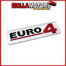 98124 LAMPA EMBLEMA ANTINQUINAMENTO 3D CROMATO - 170X50 MM - EURO 4
