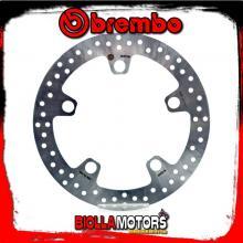 68B407N0 FRONT BRAKE DISC BREMBO HONDA CROSSTOURER 2012-2014 1200CC FIXED