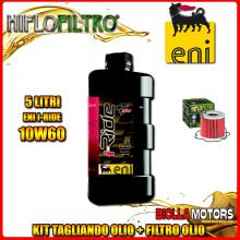 KIT TAGLIANDO 5LT OLIO ENI I-RIDE 10W60 TOP SYNTHETIC SUZUKI GS1100 E-L,ES 1100CC 1980-1983 + FILTRO OLIO HF133
