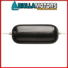 3801231 PARABORDO DKG HTMD1 BLACK L380< Parabordi Dock Edge Serie HTM Hole Black