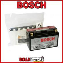 0092M60080 BATTERIA BOSCH YT7B-BS SIGILLATA CON ACIDO YT7BBS MOTO SCOOTER QUAD CROSS