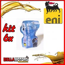 KIT 6X LITRO LIQUIDO RADIATORE ENI ANTIFREEZE READY - 6x E161172