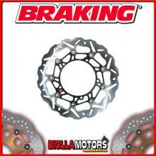 WK121R DISCO FRENO ANTERIORE DX BRAKING KTM LC8 ADVENTURE ABS 990cc 2006-2012 WAVE FLOTTANTE