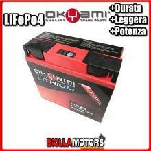 E07351 BATTERIA LITIO OKYAMI 51913 LiFePo4 LI51913 51913 MOTO SCOOTER QUAD CROSS