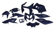 STR-903/BL SET CARENE blu metallizzato 11 pezzi Aerox/Nitro