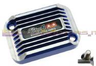 S6-SSP082-2BZ/BL COPERCHIO POMPA FRENO SSP CNC TYPE COOLING STYLE BLU X APRILIA SR