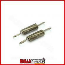 019960B COPPIA MOLLE / MOLLA INOX SPECIFICA PER FISSAGGIO MARMITTA , 62MM ?10mm ( 2 PZ)