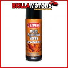 LUP400 CARPLAN SPRAY MULTIUSO, PENETRA, LUBRIFICA, PROTEGGE - 400 ML