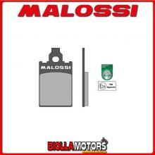6215050 PASTIGLIE FRENO MALOSSI ORGANICHE PIAGGIO FREE 50 2T ANTERIORI