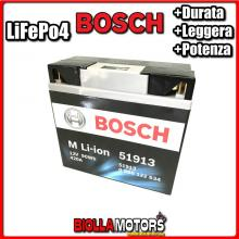 51913 BATTERIA LITIO BOSCH 51913 LifePo4 0986122634 51913 MOTO SCOOTER QUAD CROSS