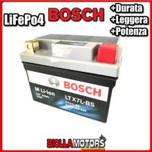 LTX7L-BS BATTERIA LITIO BOSCH YTX7L-BS LifePo4 0986122604 YTX7LBS MOTO SCOOTER QUAD CROSS