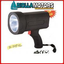 2120912 PROIETTORE LED 5W 1000K CP< Torcia LED Black Eye 100