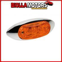 98480 LAMPA LUCE INGOMBRO A 2 LED, 24V - ARANCIO